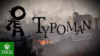 Typoman - Xbox One Launch Trailer Xbox One